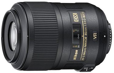 Nikon 85mm f/3.5G AF-S DX Micro ED VR