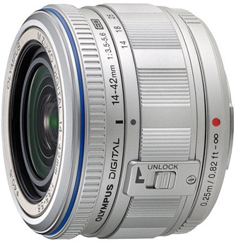 Olympus ED 14-42mm f3.5-5.6 for Micro Four Thirds