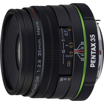 Pentax 35mm f/2.8 SMCP-DA Macro Limited Series Autofocus Lens