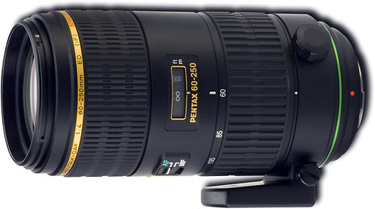 Pentax 60-250mm f/4 ED DA* SDM Autofocus Lens
