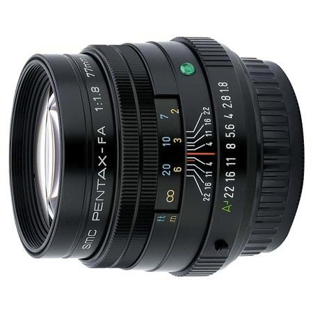 Pentax 77mm f/1.8 Limited Series Telephoto Autofocus Lens