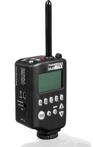 PocketWizard MultiMax 32 Channel Transceiver Radio Slave