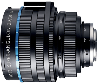 Schneider PC Tilt-Shift Super-Angulon 50mm f/2.8 Lens For Canon 