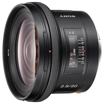 Sony 20mm f/2.8
