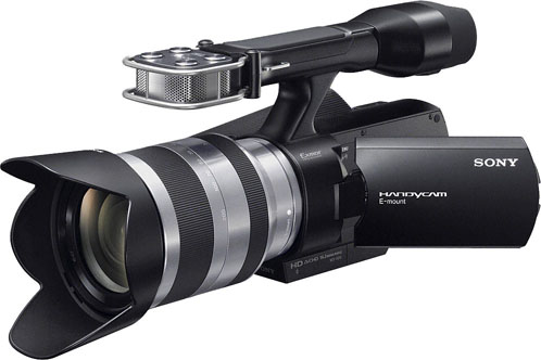 Sony NEX-VG10 Interchangeable Lens Handycam Camcorder