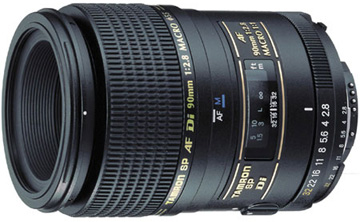 Tamron 90mm f/2.8 Di SP Macro for Nikon