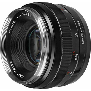 Zeiss 50mm f/1.4 ZE for Canon