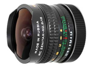 MC Zenitar 16mm f/2.8 Fisheye for Canon