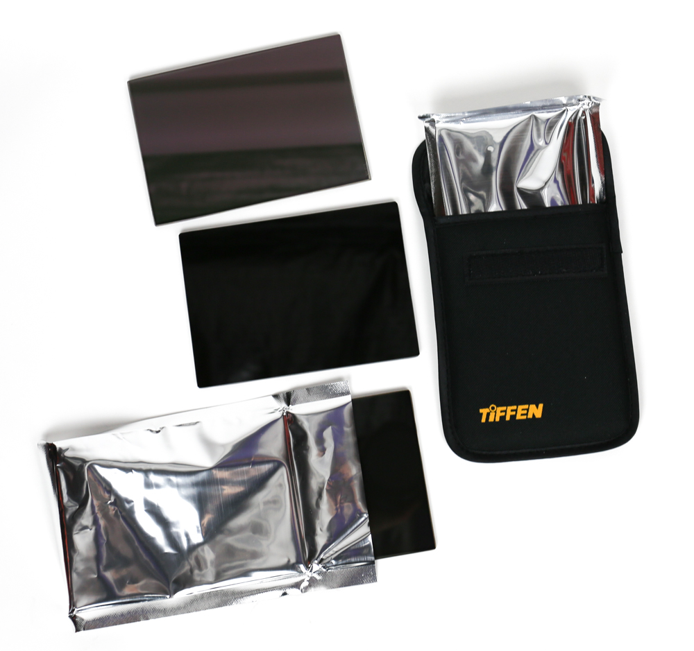 "Tiffen 4x5.65"" Hot Mirror IR ND Filter Set"