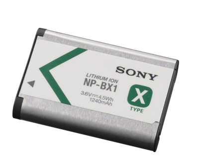 Extra Sony NP-BX1 Battery