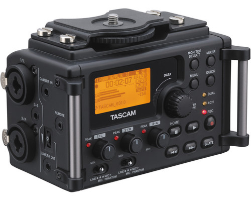 Image for product Tascam-DR60D-4Channel-Linear-PCM-Recorder