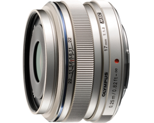 Olympus M.Zuiko 17mm f/1.8 Wide-Angle Lens for Micro Four Thirds