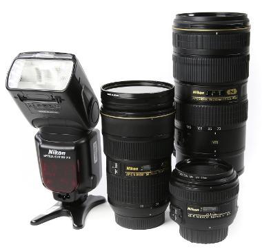 Wedding Essentials Package (No Body) - Nikon