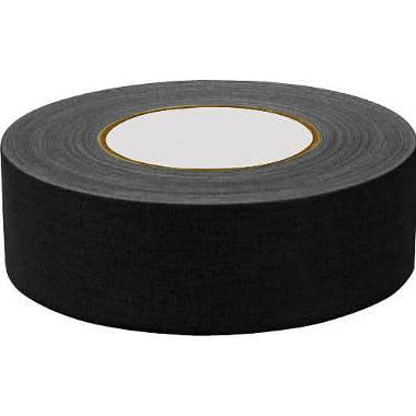 "General Brand Gaffer Cloth Tape - Matte Black 2"" x 12 Yards"