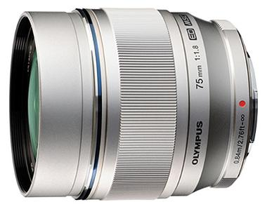 Olympus M.Zuiko Digital ED 75mm f/1.8 Lens for Micro 4/3 Cameras