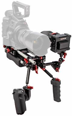 Zacuto Canon Cinema Shoulder Mount Rig - C100/C300/C500