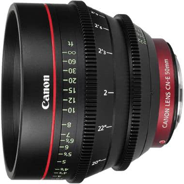 Canon CN-E 50mm T1.3 L F Cine Lens