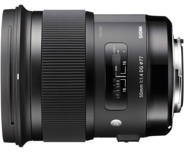 Sigma 50mm f/1.4 DG HSM Lens for Canon