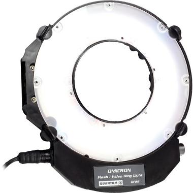 Quantum Instruments Omicron OM3 TTL Flash and Video Ring Light