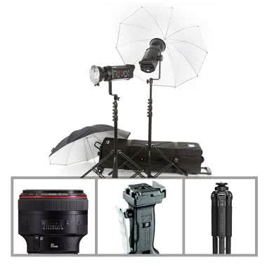 Portrait Essentials Package - Studio Use (No Body) - Canon