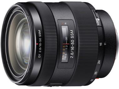 Sony 16-50mm f/2.8 Standard Zoom Lens