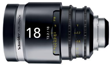 Schneider Cine-Xenar III 18mm/T2.2 (EF Mount)