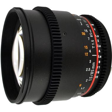 Rokinon 85mm T1.5 Cine Lens for Canon EF