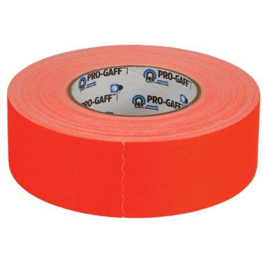 "General Brand Pro-Gaffer Vinyl Tape (Orange) - 2"" x 50 Yards"