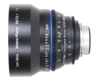 Zeiss Compact Prime CP.2 50mm/T2.1 Makro for ZF Nikon Mount