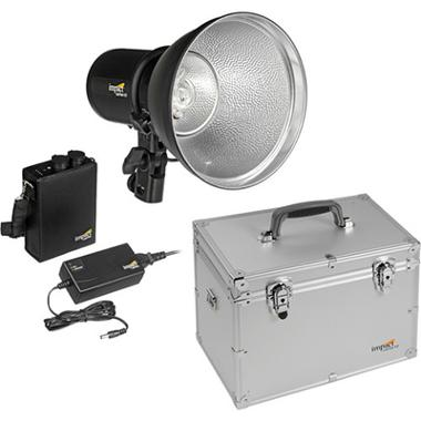 Impact 400W/s LiteTrek Monolight Kit