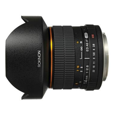 Rokinon 14mm f/2.8 IF ED UMC Ultra Wide-Angle Lens for Nikon