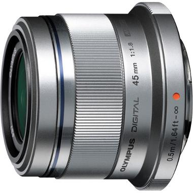 Olympus M. Zuiko Digital ED 45mm f/1.8 Lens for Micro 4/3 Cameras