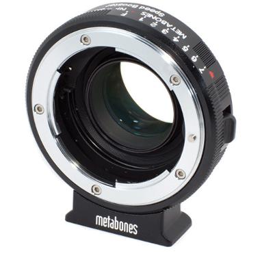 Metabones Nikon G Lens to Blackmagic Cinema Camera with Micro 4/3 Speed Booster