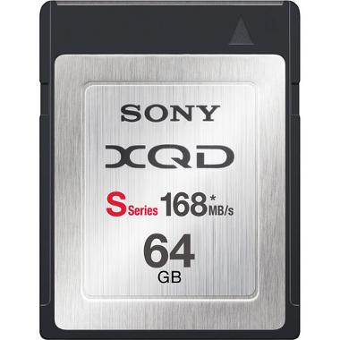 64GB 168MB/s XQD Card