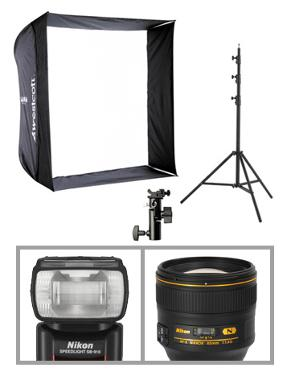 Portrait Essentials Package - Mobile Use (No Body) - Nikon