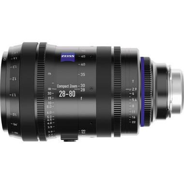 Zeiss 28-80mm T2.9 Compact Zoom CZ.2 Lens (PL Mount)