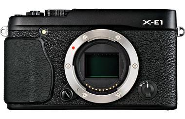Fuji X-E1 Mirrorless Digital Camera