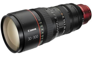 Canon CN-E 30-300mm T2.95-3.7 L S Zoom Cinema Lens