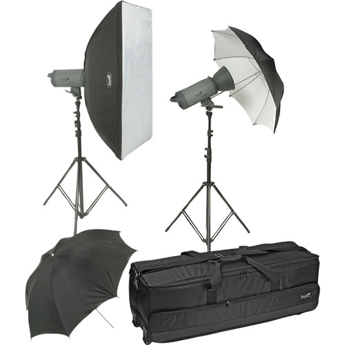 Impact 1000 Ws Two Monolight Kit
