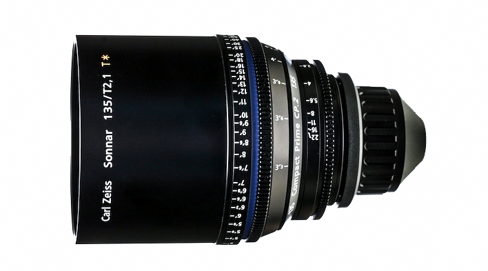 Image for product Zeiss-Compact-Prime-CP2-135mmT21-PL-Mount-Lens