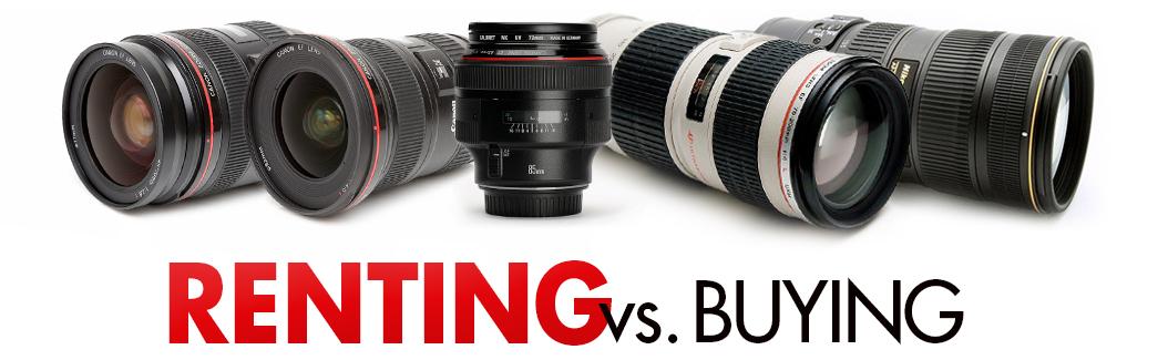 Rent vs Buy Lens