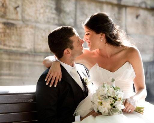 Camera lenses for wedding photos