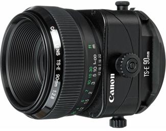 Canon TS-E 90mm f/2.8 Tilt-Shift
