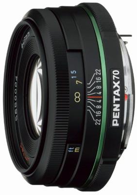 Pentax 70mm f/2.4 Pancake Lens