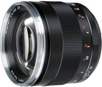 Zeiss 85mm f/1.4 ZE for Canon