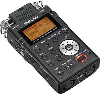 Tascam DR-100 Professional Portable Digital Audio Recorder