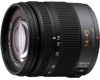 Panasonic Lumix G Vario 14-45mm f/3.5-5.6 ASPH/MEGA O.I.S. Lens for Micro 4/3