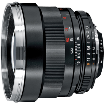 Zeiss 85mm f/1.4 ZF.2 Planar T* for Nikon