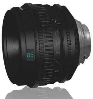 Sony Prime 85mm T2.0 PL Lens