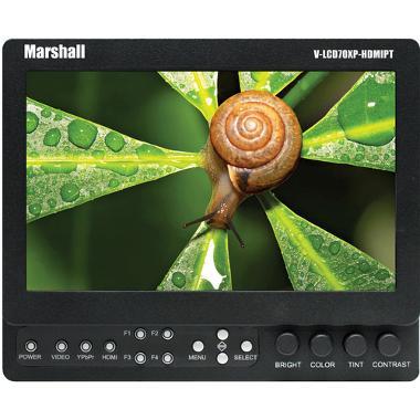 "Marshall 7"" LCD Field Monitor HDMI Loop Through w/Battery"